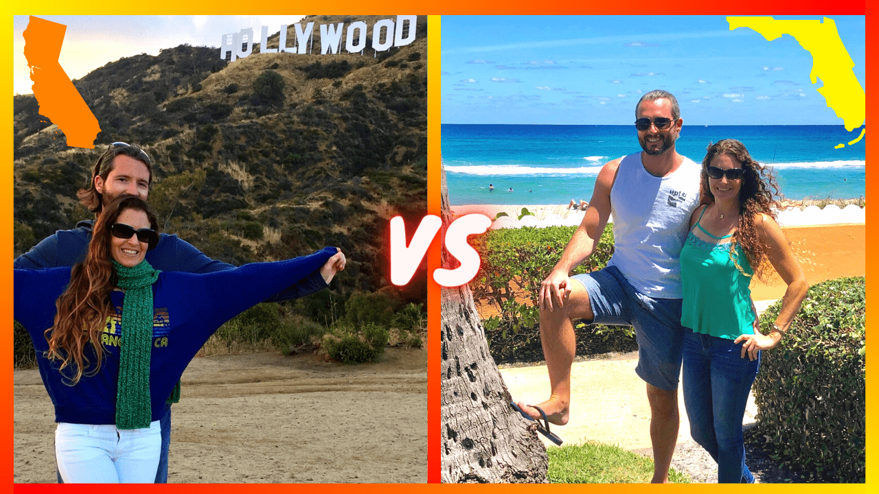 You are currently viewing Living in Florida V.S. California (The Biggest Differences Explained)